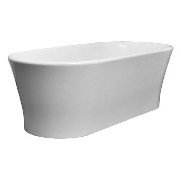 Elegance Freestanding Bath no Overflow 1800x840x590mm Pearl White