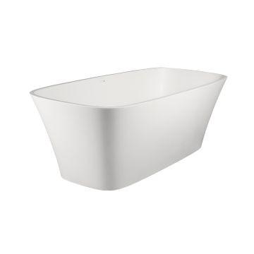 Carmen Freestanding Bath No Overflow 1760x770x590mm Gloss White