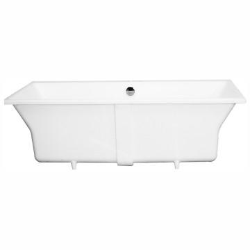 Charles 1600 Drop-In Bath with Overflow 1600x800x500mm Matt White