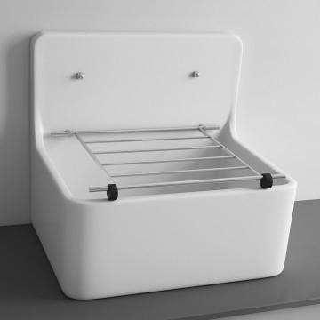 Cleaner Sink 520x390mm White
