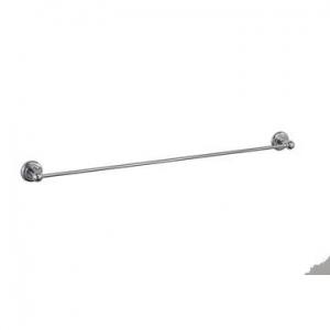 Elegance towel rail single 600mm Chrome