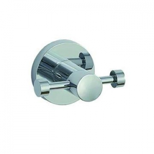 Vision Robe Hook Double Chrome
