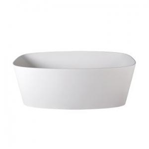 Ava Freestanding Bath No Overflow 1500x780x550mm Gloss White