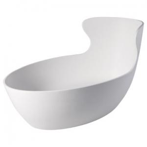 Magnolia Freestanding Bath w/o Overflow Gloss White