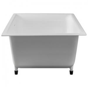 Edward Built-In Bath w/ Overflow 33kg 1530x820x500mm Pearl White