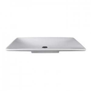 Liscio Countertop Basin 795x445x90mm Pearl White