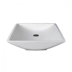 Magpie Countertop Basin 495x470x100mm Gloss White