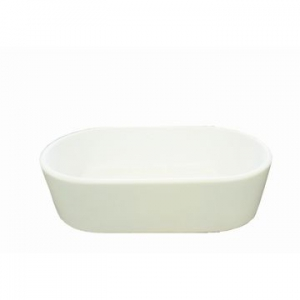 Adelaide/Warwick Countertop Basin 590x345x160mm Gloss White