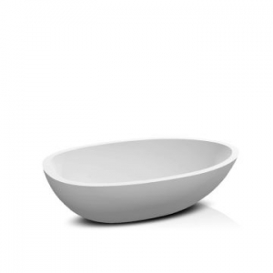Elaine Countertop Basin 570x380x150mm Gloss White