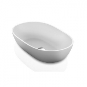 Dubai Countertop Basin 550x350x125mm Gloss White