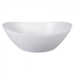 Elegance Slipper Countertop Basin 500x380x170mm Pearl White
