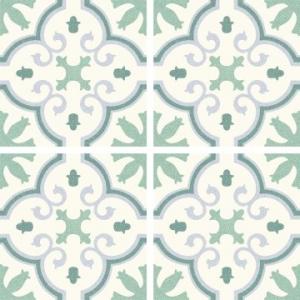 Riviera Floor Tile Porcelain 250x250mm Montecarlo Green