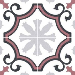 Lacour Floor Tile Porcelain 250x250mm Red