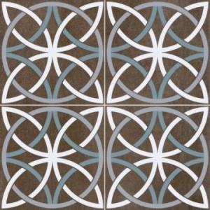 Chic Bosham Floor Tile Porcelain 450x450mm Black
