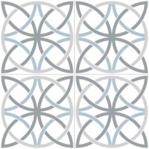Chic Bosham Floor Tile Porcelain 450x450mm White