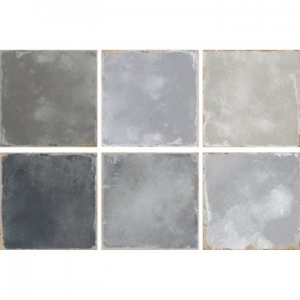 Lenos Floor Tile Porcelain 223x223mm Grey