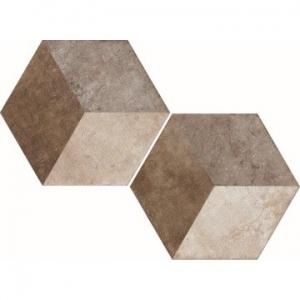 Heritage Exagona Floor Tile Porcelain 345x400mm Texture 2