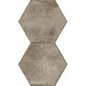 Heritage Exagona Floor Tile Porcelain 345x400mm Grey