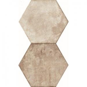 Heritage Exagona Floor Tile Porcelain 345x400mm Ivory