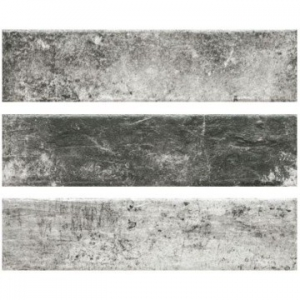 Piatto Wall Tile Ceramic 75x300mm Antracyt