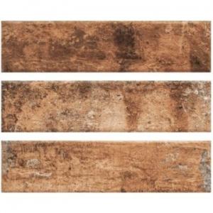 Piatto Wall Tile Ceramic 75x300mm Red