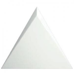 ZYX Cascade Wall Tile Ceramic 150x170mm Gloss White