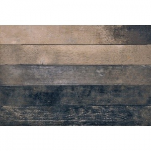 Chevronchic Floor Tile Porcelain 78x610mm Burnt