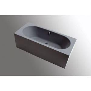 Cube Freestanding Concrete Bath 1800x800x600mm