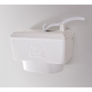 High Level Cistern Only 600x450x115mm White