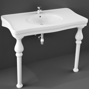 Console Wash Basin 1082x605mm White