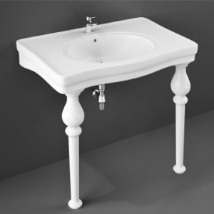 Console Wash Basin 845x575mm White