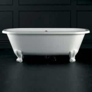 Richmond Classic Freestanding Dbl-Ended Bath White
