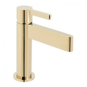 Edit Single Lever Mono Basin Mixer Smooth Bodied Bright Gold