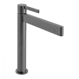 Edit Extended Single Lever Smooth Bodied Mono Basin Mixer Brushed Black