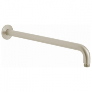 Shower Arm Round Easy Fit 400mm Brushed Nickel