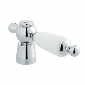 White Kensington Large handles + Bell Cover Only