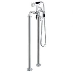 Kensington Bath Shower Mixer with Shower Kit Floor Mounted