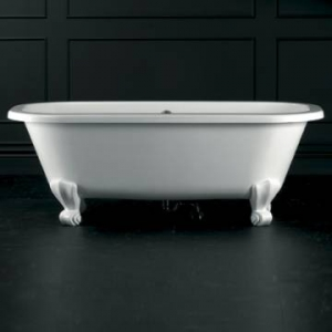 Richmond Classic Freestanding Dbl-Ended Bath White