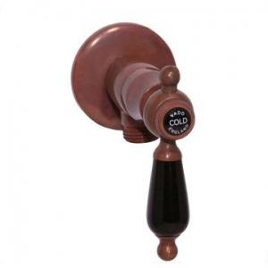 VADO - Kensington - Black Lever - Valve - Angle Valve - Aged Copper