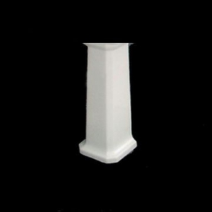 New Ham Full Pedestal White