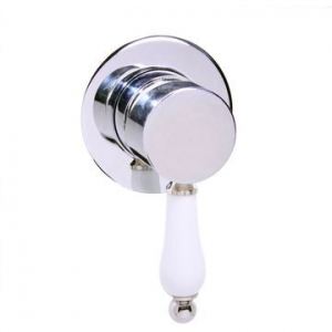 Victorian Side - VicSide - Mixer - Basin/Shower or Bath, Single Lever Mixer , Concealed - Chrome